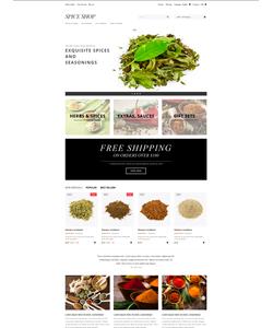 PrestaShop e-shop šablona na téma Jídlo a pití č. 48889