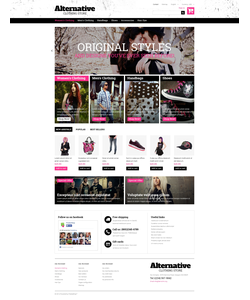 PrestaShop e-shop šablona na téma Móda č. 48946