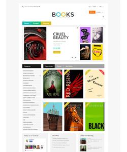 PrestaShop e-shop šablona na téma Knihy č. 48977