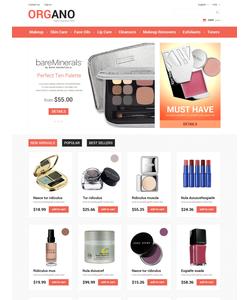 PrestaShop e-shop šablona na téma Krása č. 48995