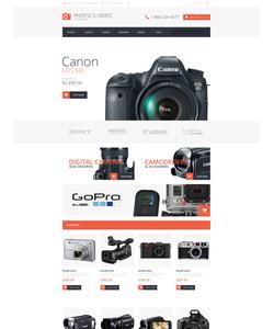OpenCart e-shop šablona na téma Elektronika č. 49086
