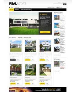 PrestaShop e-shop šablona na téma Nemovitosti č. 49108