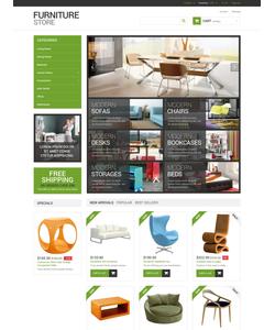PrestaShop e-shop šablona na téma Interiér a nábytek č. 49202
