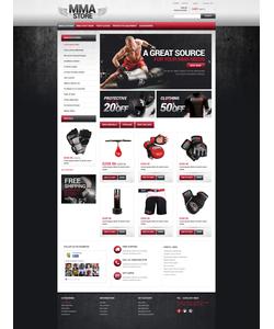 PrestaShop e-shop šablona na téma Sport č. 49238