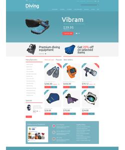 PrestaShop e-shop šablona na téma Sport č. 49244