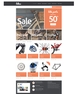 PrestaShop e-shop šablona na téma Sport č. 49374