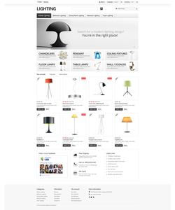 PrestaShop e-shop šablona na téma Interiér a nábytek č. 49395
