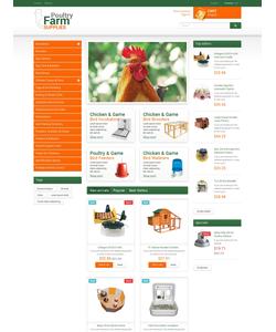 PrestaShop e-shop šablona na téma Zemědělství č. 49463