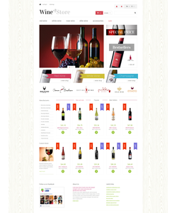 PrestaShop e-shop šablona na téma Jídlo a pití č. 49523