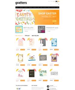 PrestaShop e-shop šablona na téma Knihy č. 49655