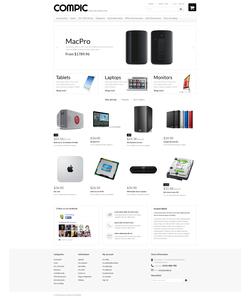 PrestaShop e-shop šablona na téma Počítače č. 49674