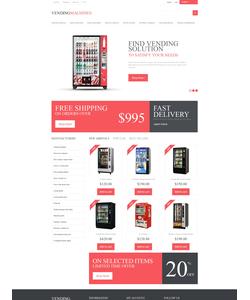 PrestaShop e-shop šablona na téma Jídlo a pití č. 50097