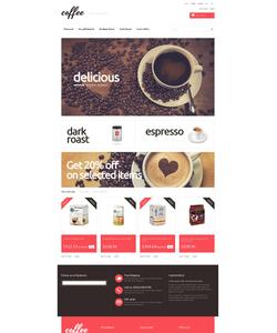 PrestaShop e-shop šablona na téma Café a restaurace č. 50110