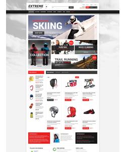 PrestaShop e-shop šablona na téma Sport č. 50127