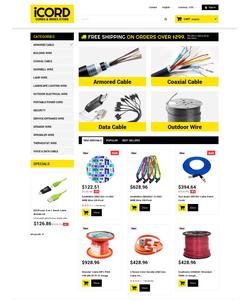 PrestaShop e-shop šablona na téma Elektronika č. 50470