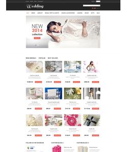 PrestaShop e-shop šablona na téma Svatby č. 50521