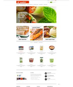 PrestaShop e-shop šablona na téma Jídlo a pití č. 50523