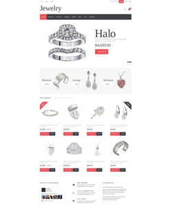 PrestaShop e-shop šablona na téma Šperky č. 50618
