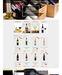 PrestaShop e-shop šablona na téma Jídlo a pití č. 50698