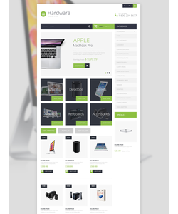 PrestaShop e-shop šablona na téma Počítače č. 50699