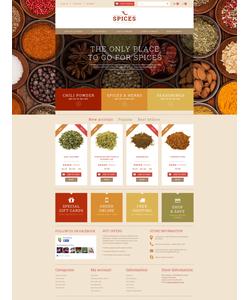 PrestaShop e-shop šablona na téma Jídlo a pití č. 50807