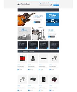 PrestaShop e-shop šablona na téma Hudba č. 50987