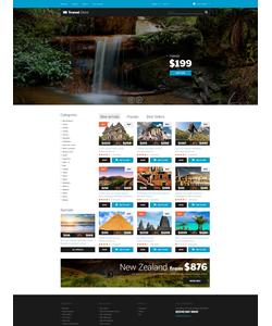 PrestaShop e-shop šablona na téma Cestování č. 50998