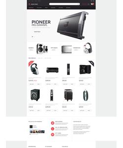 PrestaShop e-shop šablona na téma Elektronika č. 51104