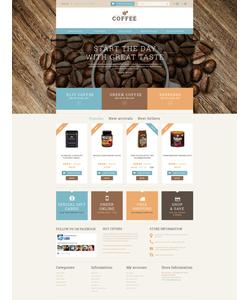 PrestaShop e-shop šablona na téma Café a restaurace č. 51111