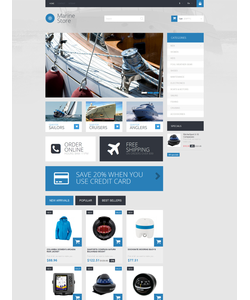 PrestaShop e-shop šablona na téma Sport č. 51128