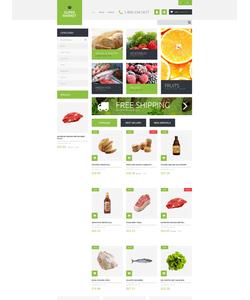 PrestaShop e-shop šablona na téma Jídlo a pití č. 51255