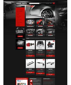 PrestaShop e-shop šablona na téma Auta č. 51404