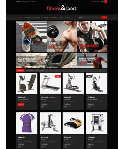 PrestaShop e-shop šablona na téma Sport č. 51850