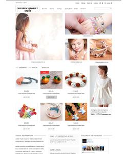 PrestaShop e-shop šablona na téma Šperky č. 52054