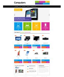 PrestaShop e-shop šablona na téma Počítače č. 52058