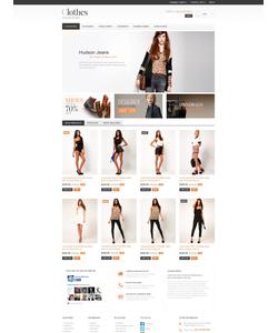 PrestaShop e-shop šablona na téma Móda č. 52128