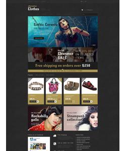 PrestaShop e-shop šablona na téma Móda č. 52150