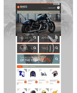 PrestaShop e-shop šablona na téma Auta č. 52186