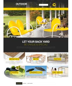 PrestaShop e-shop šablona na téma Interiér a nábytek č. 52247