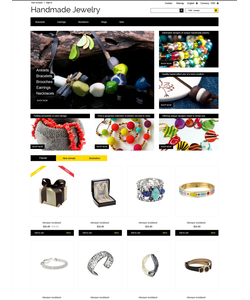 PrestaShop e-shop šablona na téma Šperky č. 52284