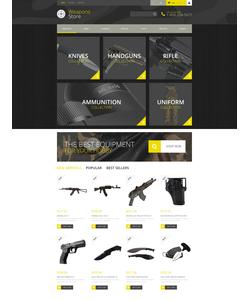PrestaShop e-shop šablona na téma Sport č. 52295