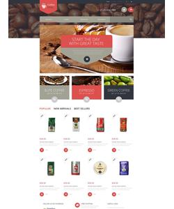 PrestaShop e-shop šablona na téma Café a restaurace č. 52340