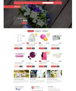 PrestaShop e-shop šablona na téma Svatby č. 52575