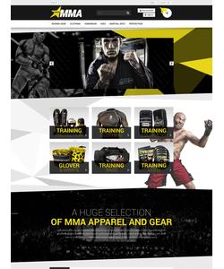PrestaShop e-shop šablona na téma Sport č. 52663