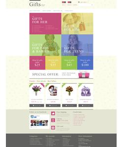 PrestaShop e-shop šablona na téma Dárky č. 52664