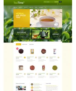 PrestaShop e-shop šablona na téma Jídlo a pití č. 52672