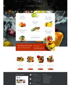 PrestaShop e-shop šablona na téma Dárky č. 52699