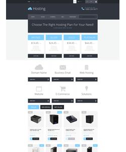 PrestaShop e-shop šablona na téma Hosting č. 52753
