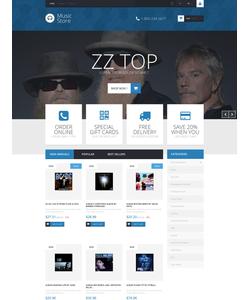 PrestaShop e-shop šablona na téma Hudba č. 52809