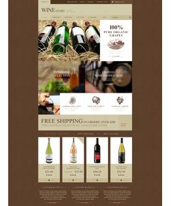 PrestaShop e-shop šablona na téma Jídlo a pití č. 52821